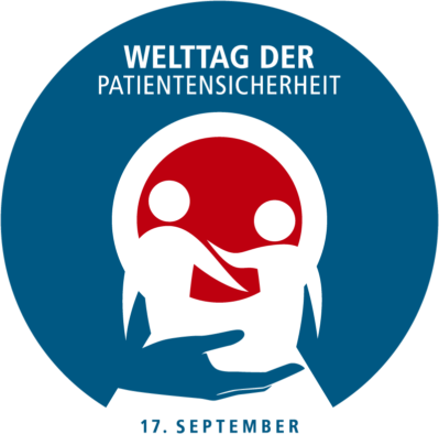 Logo: Welttag der Patientensicherheit 17. September